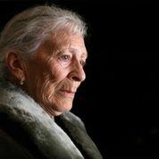 Older person pensive