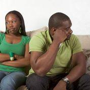 Black couple mad