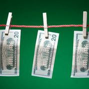 Money clothespins