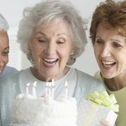 Older woman birthday