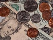 Money coins dollars